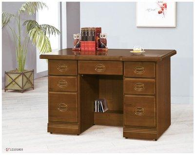 【浪漫滿屋家具】(Gp)554-7 樟木皇家4.2尺辦公桌