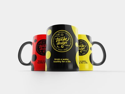 踢握客設計 Tevoke design 廣告贈品  專業設計馬克杯設計客製化印製