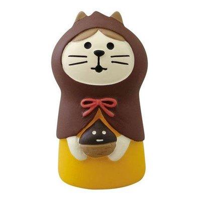 【JPS日貨】日本 全新正品 concombre 萬聖節系列 黑貓咖啡館(栗子)