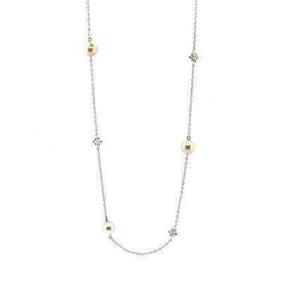 【JHT金宏總珠寶/GIA鑽石專賣】日本工藝珍珠項鍊(JB45-A20)