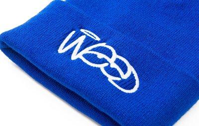 ☆LimeLight☆ WEED Clothing -  OG LOGO BEANIE 美國製造 寶藍色 毛帽