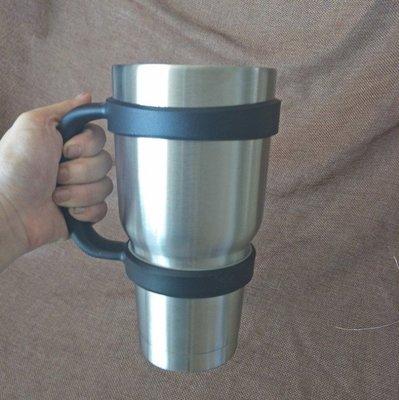 【只有手把】 SK雪山杯 900ML 冰霸杯 酷冰杯 雙層真空不銹鋼 冰杯保冷冰桶保溫咖啡杯【B】 台南市