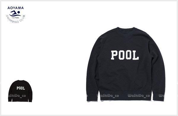 WaShiDa PLUS+【 the POOL aoyama 羊毛 字母 長袖 T恤 毛衣 衛衣 】- POM5560