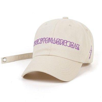 【Easy GO 韓國潮牌代購 ] STIGMA. BVSC  棒球帽/鴨舌帽(米色)