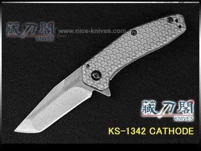 《藏刀閣》KERSHAW-CATHODE折刀