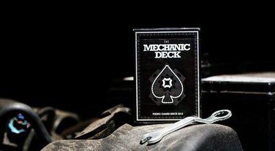 【USPCC撲克】Mechanic Deck Playing cards 撲克牌 黑色