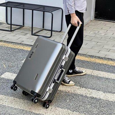 免運 鋁框萬向輪拉桿箱學生行李箱男女2...