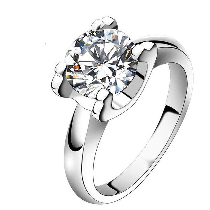 卡迪莫桑石鑽戒1克拉18k金檯帶保證書保卡特價鑽石百年經典卡家牛頭超白摩星鑽鉑金真鑽質感 保證過測鑽筆 ZB莫桑鑽寶