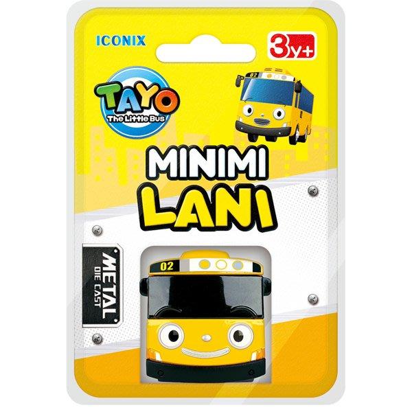 TAYO小巴士 迷你合金小巴士 妮妮(黃)_TT 21249 原價99元 官方直銷店 永和小人國玩具店