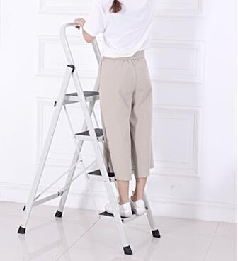 奧鵬梯子家用折疊人字梯室內加厚三四步五步樓梯小扶梯多功能爬梯