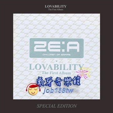 【象牙音樂】韓國人氣團體-- ZE:A Vol. 1 - Lovability (Special Edition)  特別版