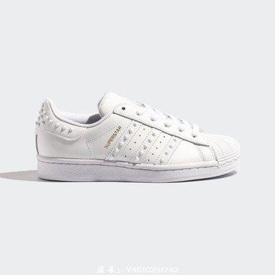 ADIDAS 小白鞋 ORIGINALS SUPERSTAR 貝殼頭 運動休閒 女款 FV3397 MAR免運