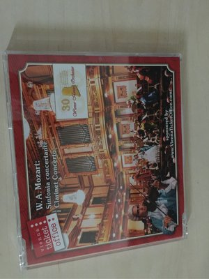 W A Mozart 莫札特精選 CD