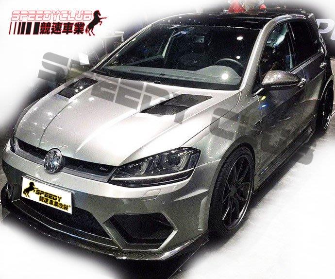 福斯 VW GOLF 7  GTI R  ASP款  碳纖維 carbon 引擎蓋