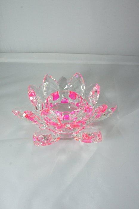 水晶蓮花燭台(小) 7色
