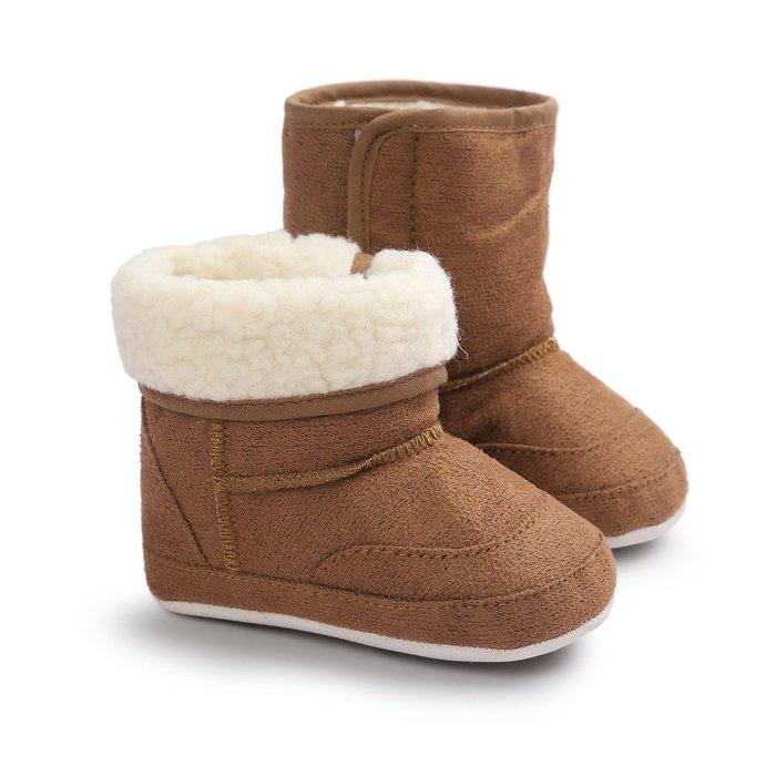 森林寶貝屋~咖啡休閒雪鞋~學步鞋~幼兒鞋~寶寶鞋~保暖鞋~嬰兒鞋~雪鞋~棉鞋~童鞋~粘扣設計~彌月送禮~特價