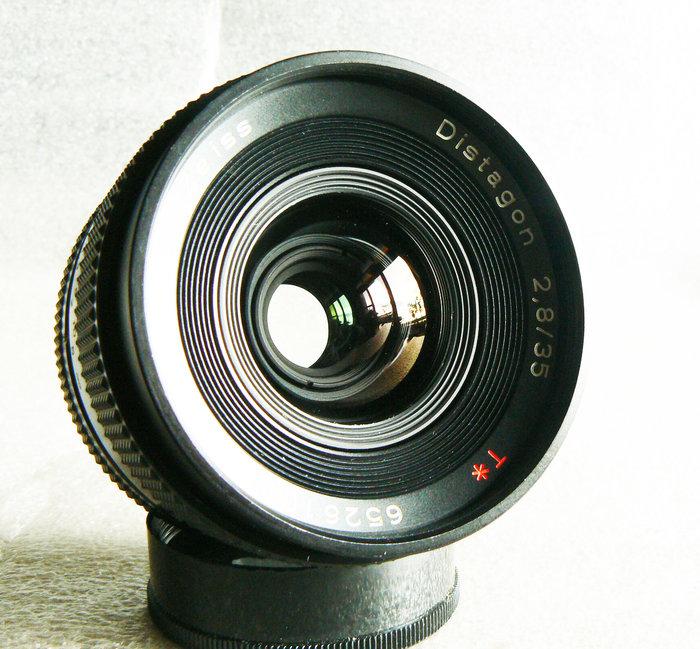 【悠悠山河】收藏級 Carl Zeiss T* Distagon 35mm F2.8 AEJ Contax 無傷無霉無霧