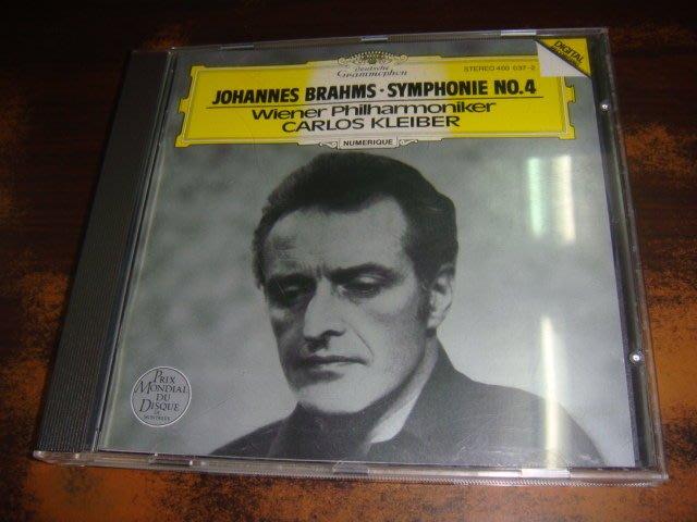 好音悅 半銀圈 Kleiber 小克萊巴 Brahms 布拉姆斯 Symphony No. 4 第四號交響曲 DG 德版