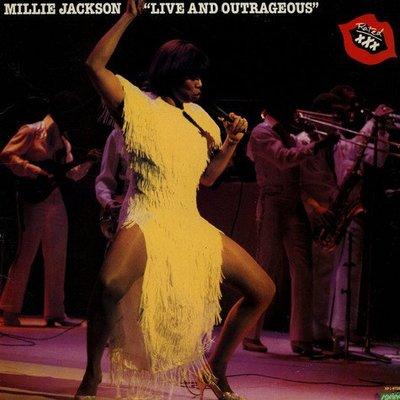 美國二手黑膠Millie Jackson/Live and Outrageous