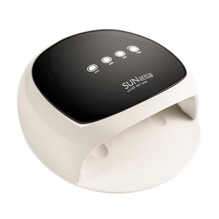 美甲光療機 烘干甲油膠烤燈液晶智能感應模式速干LED燈 LR3057TW