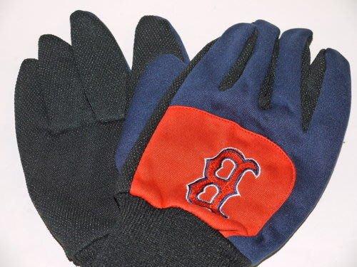貳拾肆棒球-美國帶回.MLB波士頓紅襪保暖用手套一雙