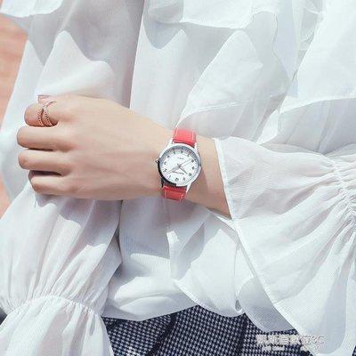 時尚潮流女士手錶女學生韓版簡約休閒大氣小清新百搭森繫防水夜光