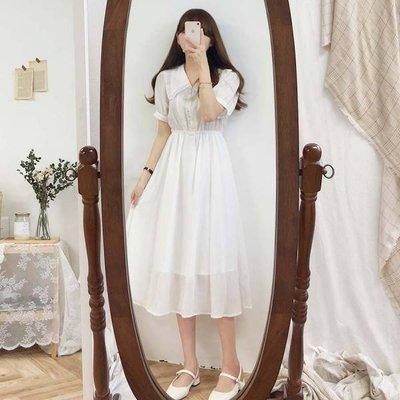 【ZEU'S】踏青甜美氣質長洋裝『 07119606 』【現+預】G