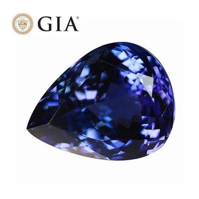 (((品瑄珠寶))) GIA證書 11.53克拉 丹泉石 無燒全美 火光強 藍紫色調 附GIA權威報告 行家首選