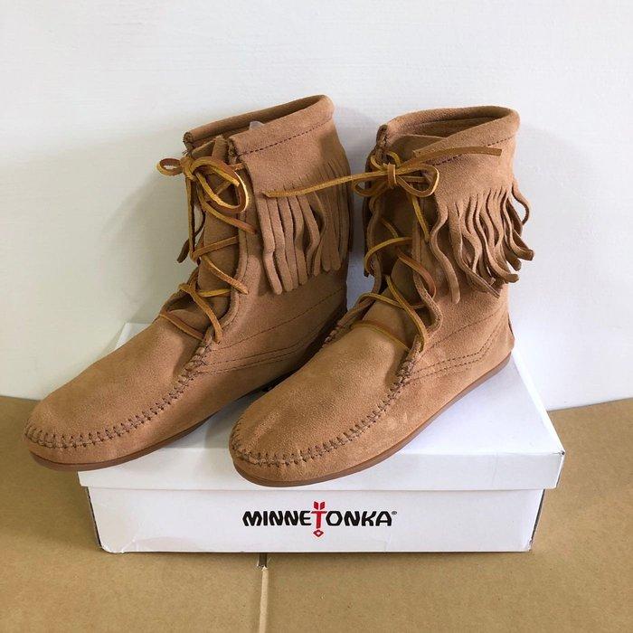 Maple麋鹿小舖 美國AE官網購買 *莫卡辛麂皮高踝休閒鞋 * ( 現貨6號 )