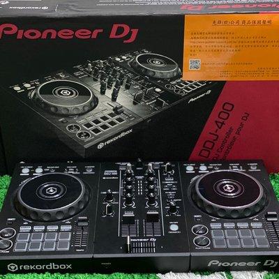 二手美品 現貨 Pioneer 公司貨 DJ DDJ-400 入門款rekordbox dj 雙軌控制器 盒裝全配(已售)