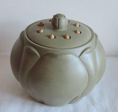丁香之家--紫砂蓮花茶葉罐