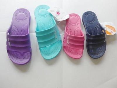 ☆鞋之誠鞋舖☆TWO BOOS拖鞋系列 Q彈 輕盈~383~ 黑 桃 紫 水藍~17~22號(CM) 190元 台灣製