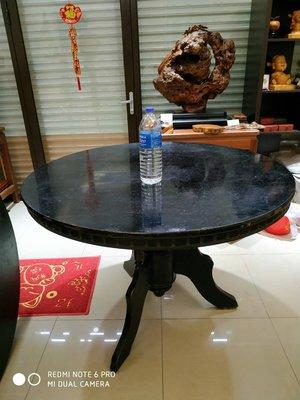 台灣檜木圓桌板、直徑120公分、無拼接一整塊(黃檜、紅檜、原木)