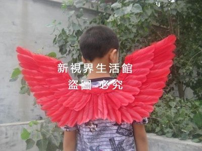 【新視界生活館】cos天使翅膀兒童款式生日聚會禮物演出表演羽毛大號道具3747{XSJ309221392}