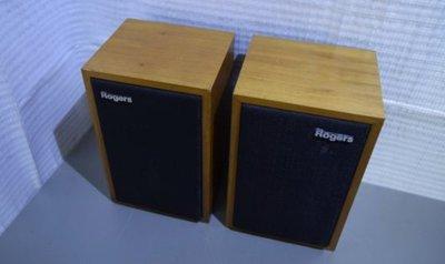 Rogers 11歐姆 LS3/5A 狀況優良如新9成新無修無改 Harbeth Spendor Kef 台北市可試聽