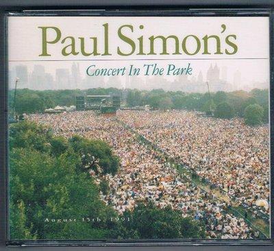 [鑫隆音樂]西洋CD-保羅賽門Paul Simon/91年中央公園演唱會2CD(7599267372)全新