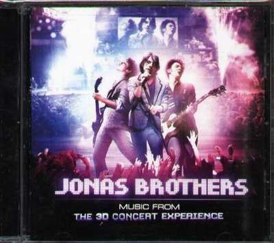 八八 - Jonas Brothers - Music from the 3D Concert Experience