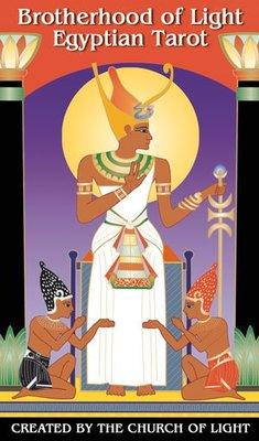 【預馨緣塔羅鋪】現貨正版光的兄弟埃及人塔羅Brotherhood of Light Egyptian Tarot