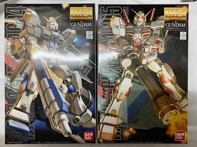 Bandai 機動戰士 高達SIDE STORY MG 1/100 RX-78-4, RX-78-5, GUNDAM G04,G05