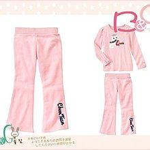 【B& G童裝】正品美國進口GYMBOREE粉紅色內軟刷毛長褲8yrs