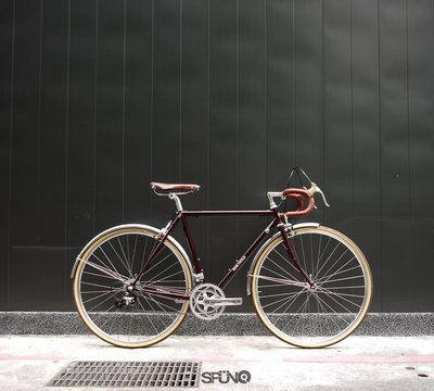 [Spun Shop] ENE Ciclo C-2 Touring Bike 公路旅行車 - 亮光深紅色