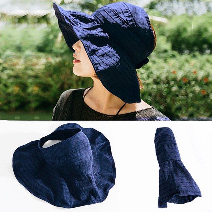 夏季遮陽帽 可折疊收納【ZOWOO-B0170】防曬日本訂單帽子