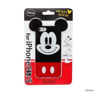 尼德斯Nydus~* 日本限定 正版 迪士尼 Disney 手機殼 保護殼 大頭 米奇 iPhone5 5S