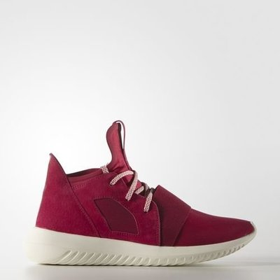 (預購商品) ADIDAS ORIGINALS TUBULAR DEFIANT S75902 桃紅 麂皮 奶油 運動鞋