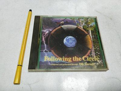 昀嫣音樂(CD101) Following the Circle/ Dik Darnell 保存如圖 售出不退