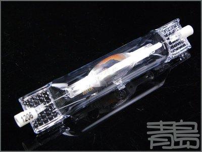 五2中0↓↓。。。青島水族。。。店長嚴選-----HQI複金屬鹵素燈泡==150W-8000K-雙頭