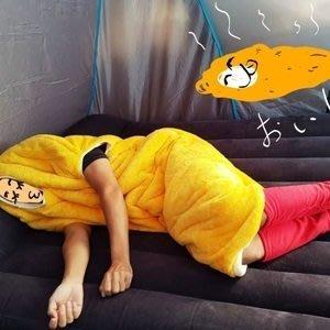 JUANE玩偶百貨【BK1052102726】可愛呆萌保暖炸蝦行動睡袋 禦寒神器 懶人必備