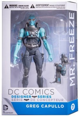 全新 DC Comics Greg Capullo Designer Mr. Freeze Batman 蝙蝠俠 急凍人
