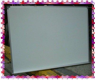 【中和利源店面專業家】全新 3x4尺 90x120 進口【日本琺瑯面】 空白白板 另有行事曆白板.旋轉式白板架 新北市