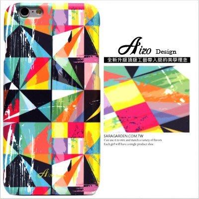 客製化 手機殼 iPhone 7 6 6S Plus【多型號製作】保護殼 藝術三角圖騰 Z101